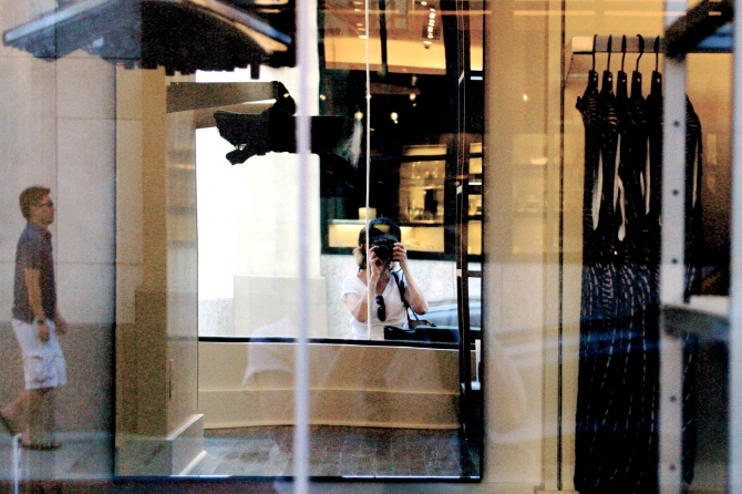 dress shop refection